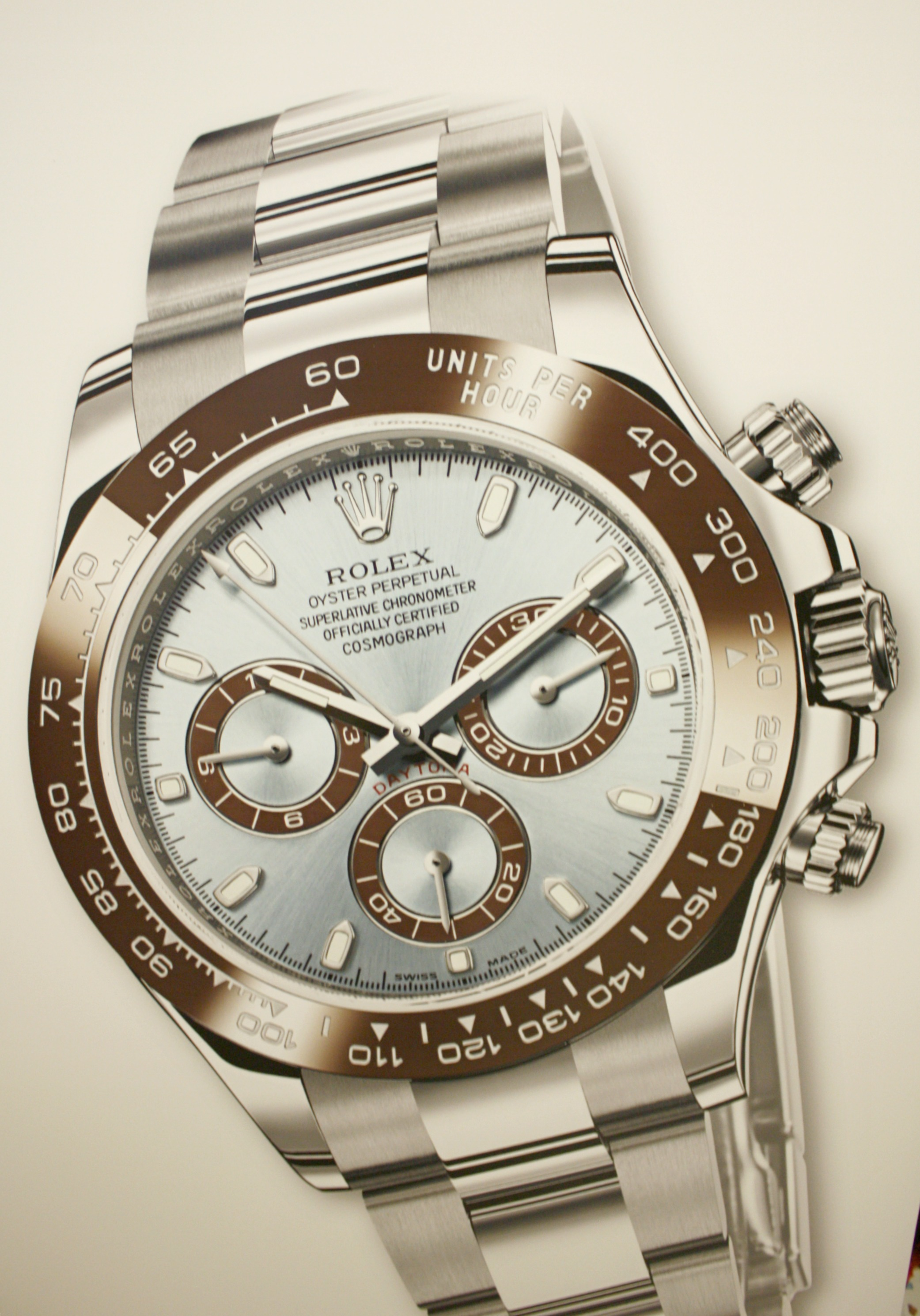 check-out cff65 20d90 Roll up banner pubblicitario Rolex