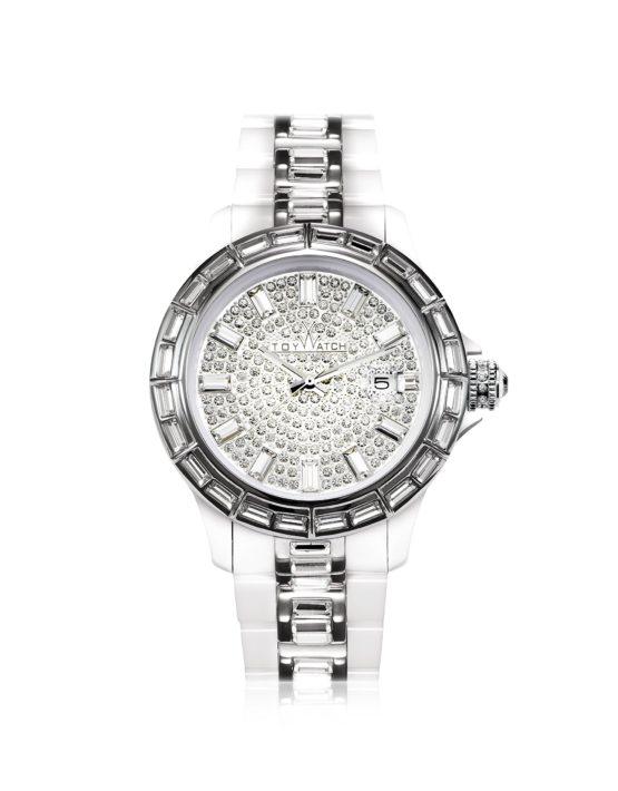 Toywatch Plasteramic GEM Crystal Ladies Watch ref.GE01WH