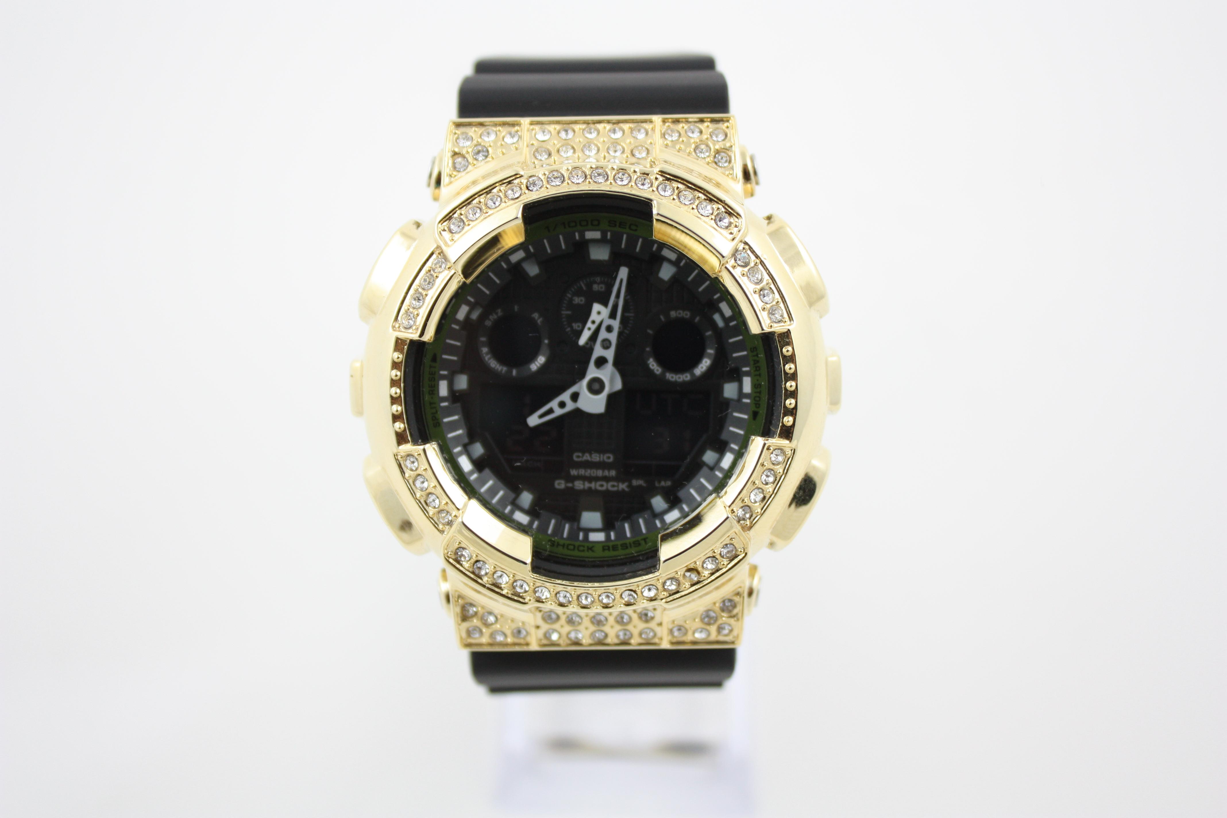 Orologio casio g schock personalizzato con cover in cristalli