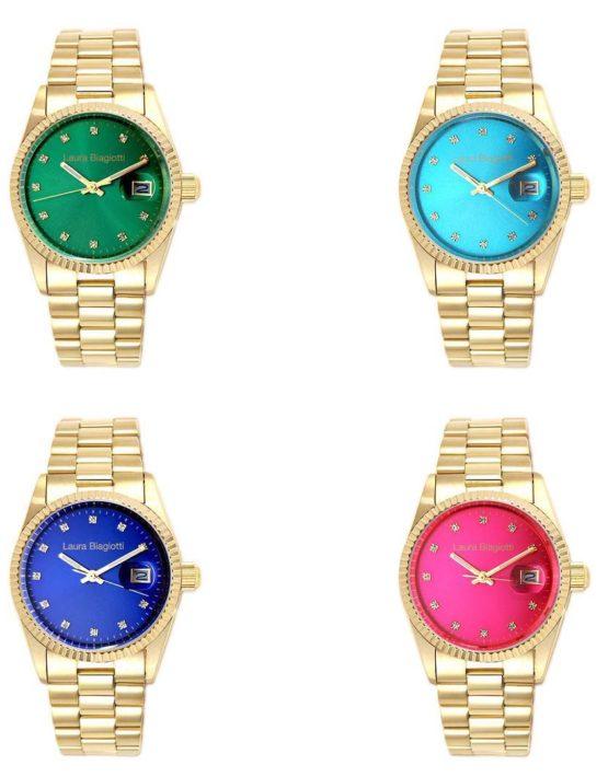 Orologio Laura Biagiotti Collezione Rainbow