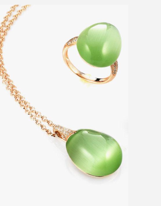 Anello-verde-Collezione-Olga-Maison-Tatiana-Fabergé